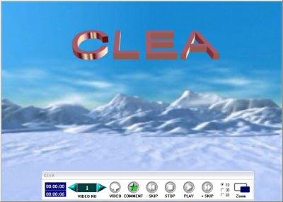 CLEAメイン画面